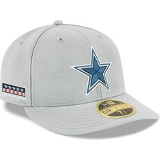 new style 9fed4 91b33 Men s Dallas Cowboys New Era Gray Crafted in the USA Low Profile 59FIFTY Fitted  Hat, Your Price   39.99