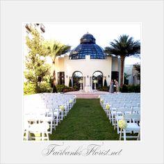 Fairbanks florist.net designed by lana. Wedding ceremony at The Alfond Inn, Rollins College