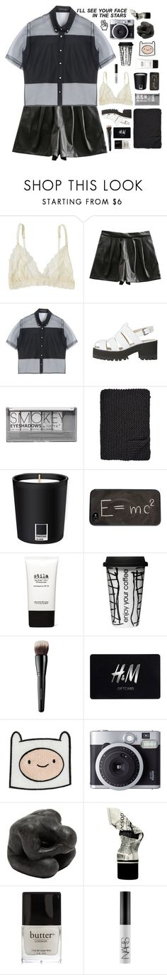 """☾ abby's 50k set challenge"" by thundxrstorms ❤ liked on Polyvore featuring Lonely, Retrò, Christopher Kane, Boohoo, Alicia Adams, Pantone, Theory, Stila, Dot & Bo and Bare Escentuals"