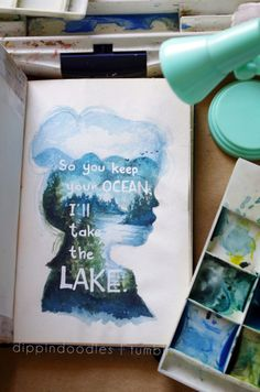 lake quotes watercolor book quotes book quote slammed art journal this girl bibliophile colleen hoover Point of Retreat Will Cooper Layken Cohen booklr dippindoodles Slammed Colleen Hoover, Colleen Hoover Quotes, Lake Quotes, Watercolor Books, Watercolour Painting, Collages, Book Qoutes, Favorite Book Quotes, I Love Reading