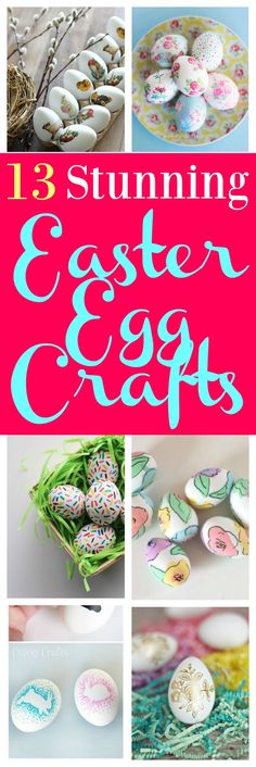 13 Stunning Easter Egg Crafts You Need to Try