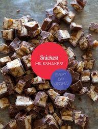 Snicker Milkshake