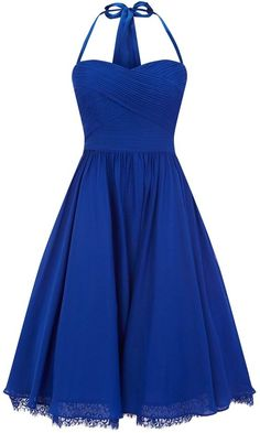 Blue bridesmaid dress...super cute with updos