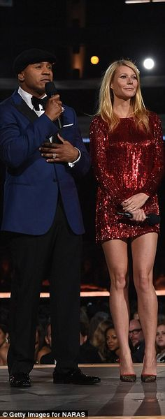 Proud friend: She gushed about her close pal while introducing her, calling the hitmaker h...