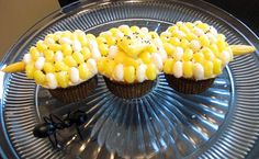 Cupcake Display fun for summer and Labor Day parties!
