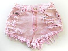 Frayed shorts