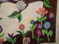 closeup of flowers Owl Quilts, Close Up, Flowers, Painting, Art, Art Background, Painting Art, Kunst, Paintings