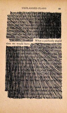 """Otro ejemplo de """"poesía visual!"""