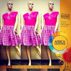 This is a Hash1 Item. Hash1 is an Africa Fashion House innovation that allows our clients order exclusive design/fabric combinations that are never repeated. 1Design, 1Fabric, 1Item Call-SMS-WhatsApp - 079.142.4693  All Hash1 Items are delivered for free nationwide.