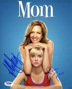 Mom Cast Faris & Janney Signed 8x10 Photo Certified Authentic PSA/DNA