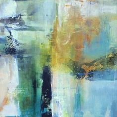 abstract art painting, abstract landscape painting, contemporary art, figurative, intuitive art, joan fullerton artist, mixed media,