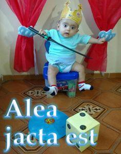 Alea jacta est A sorte está lançada :   The die is cast
