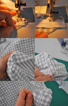 Matratzenbezug nähen - mit Anleitung - super!