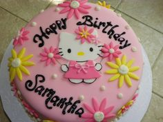 Hello Kitty Cakes And Cupcakes | Plumeria Cake Studio: Hello Kitty Cake and Cupcakes with Keroppi