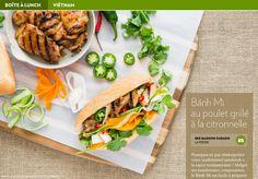Banh Mi au poulet grillé à la citronnelle - La Presse+