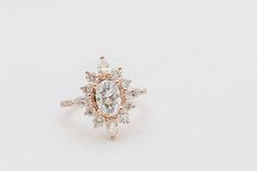 Diamond Signet Ring in Gold / Star Setting Diamond Signet Ring / Gold Signet Ring / Pinky Signet Ring / Graduation Gift - Fine Jewelry Ideas Oval Halo Engagement Ring, Vintage Engagement Rings, Art Deco Jewelry, Jewellery Box, Jewellery Shops, Jewelry Stores, Hand Jewelry, Bespoke Jewellery, Jewelry Design