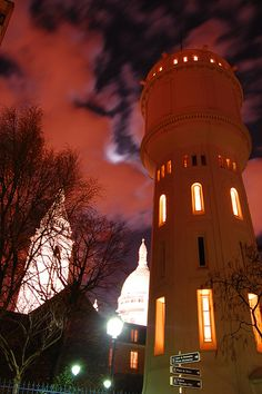 night walk around Sacré Coeur, Montmartre