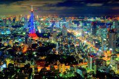 六本木ヒルズから見下ろす東京の夜景 の画像|じんのブログ