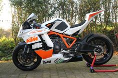Real beast Bike Bmw, Moto Bike, Motorcycle Bike, Super Bikes, Ktm Rc8, Ninja Bike, Duke Bike, Ktm Motorcycles, Futuristic Motorcycle