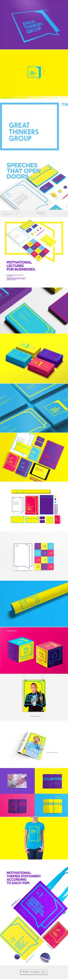 Great Thinkers Group on Behance - created via http://pinthemall.net
