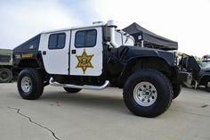 Orange County Sheriff, California, Rescue Hummer.