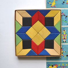 Vintage Blocks With Box Vintage Toy Wood Germany Speile Offered By Elizabeth…