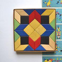 Vintage Blocks With Box Vintage Toy Wood Germany Speile Offered By Elizabeth…