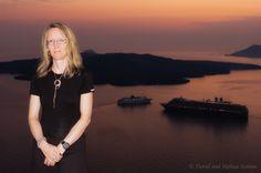 Dusk Portrait on Santorini (Greece) by David Kamm on 500px #portrait #travel #photography