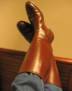 Equestrian Tall Leather MUX Horse Riding Show Dressage Boot Custom Made