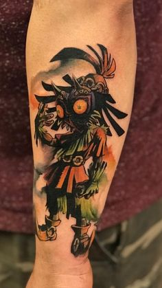 Oh hey, a tattoo post of an actually good tattoo