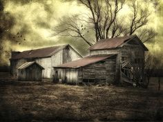 After the Storm by Mary Timman Country Barns, Old Barns, Old Buildings, Abandoned Buildings, Barns Sheds, After The Storm, Dark Places, Past Life, All Pictures