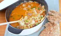 Kupus Kalja is een traditioneel 'Yoegoslavisch' gerecht. Als kind at ik dit heel vaak, en nu heb ik het recept gevonden om dit ook zelf te kunnen maken.