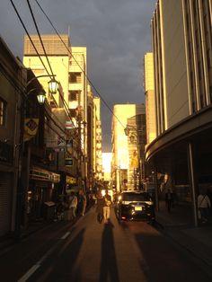 at dusk/Kichijouji, Tokyo