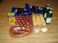 Low Country Boil with Beer
