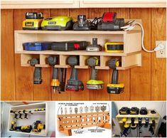 Tons of tool organizational ideas