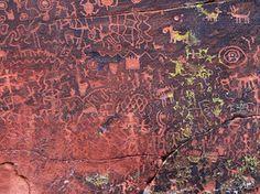 Ancient Rock Art Panel, Sedona AZ