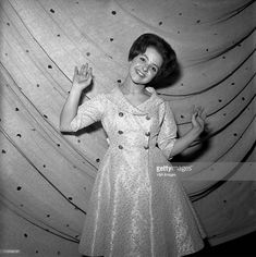 Brenda Lee, American Bandstand, Good Old, Country Music, Backstage, High Neck Dress, Poses, Celebrities, Stars