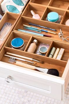 Go all out on drawer dividers.  - GoodHousekeeping.com
