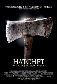 Hatchet Horror Movie Poster