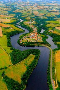 La Vallée de l'Yon, France,  Vendée département, western France by Anthony Raguenes