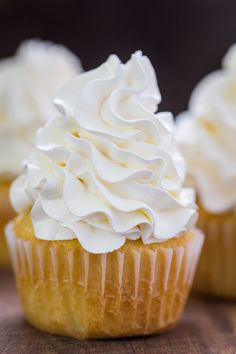 Swiss Meringue Buttercream will become your go-to buttercream frosting. Swiss meringue buttercream is silky and pipes beautifully on cakes and cupcakes | natashaskitchen.com