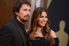 #oscar2014 #parejas -Christian Bale y Sibi Blazic
