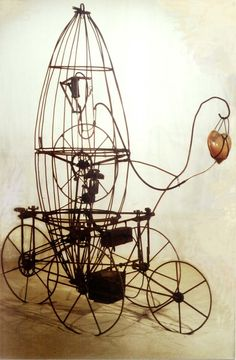 Ik vind deze afbeelding bij het begrip ''kinetisch object'' passen, omdat het een stroming is in de kunst waarin beweging centraal staat.