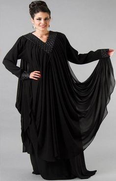 64038e8abfea2 New Exclusive  amp  Stylish Abaya Designs For Girls 2015-2016
