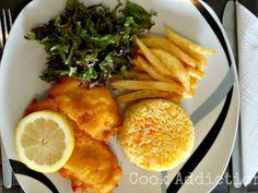 Receita Prato Principal : Panados de frango com arroz de cenoura de Addicted