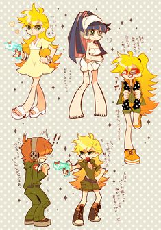 Anarchy Stocking - Panty and Stocking With Garterbelt - Zerochan Anime Image Board Character Model Sheet, Character Art, Character Design, Cartoon Tv, Cartoon Shows, Pretty Art, Cute Art, Panty And Stocking Anime, Art Poses