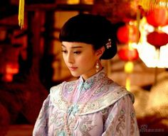 Late Qing Dynasty woman played by Fan Bingbing.