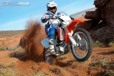 The 2013 Honda CRF250X does have some grunt out of the corners.