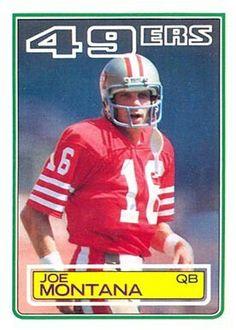 1979 - 1994 Joe Montana San Francisco 49's