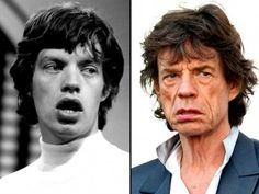 """Sir Michael Philip """"Mick"""" Jagger (b. July 26, 1943)  musician, singer-songwriter, the lead vocalist of The Rolling Stones"""